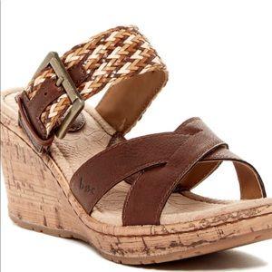 B.O.C. Izabel Cork Wedge Women's Sandals